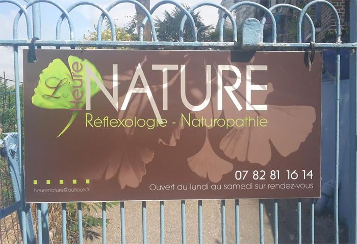 heure nature identite visuelle print grand format