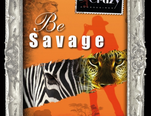 Chevalet Be Crazy – ShowCard