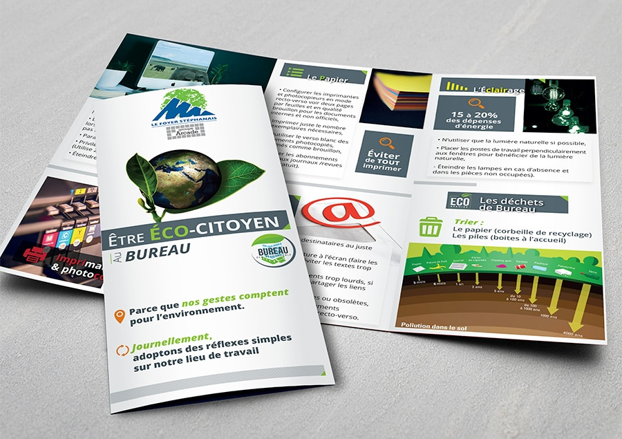 Outil communication flyer
