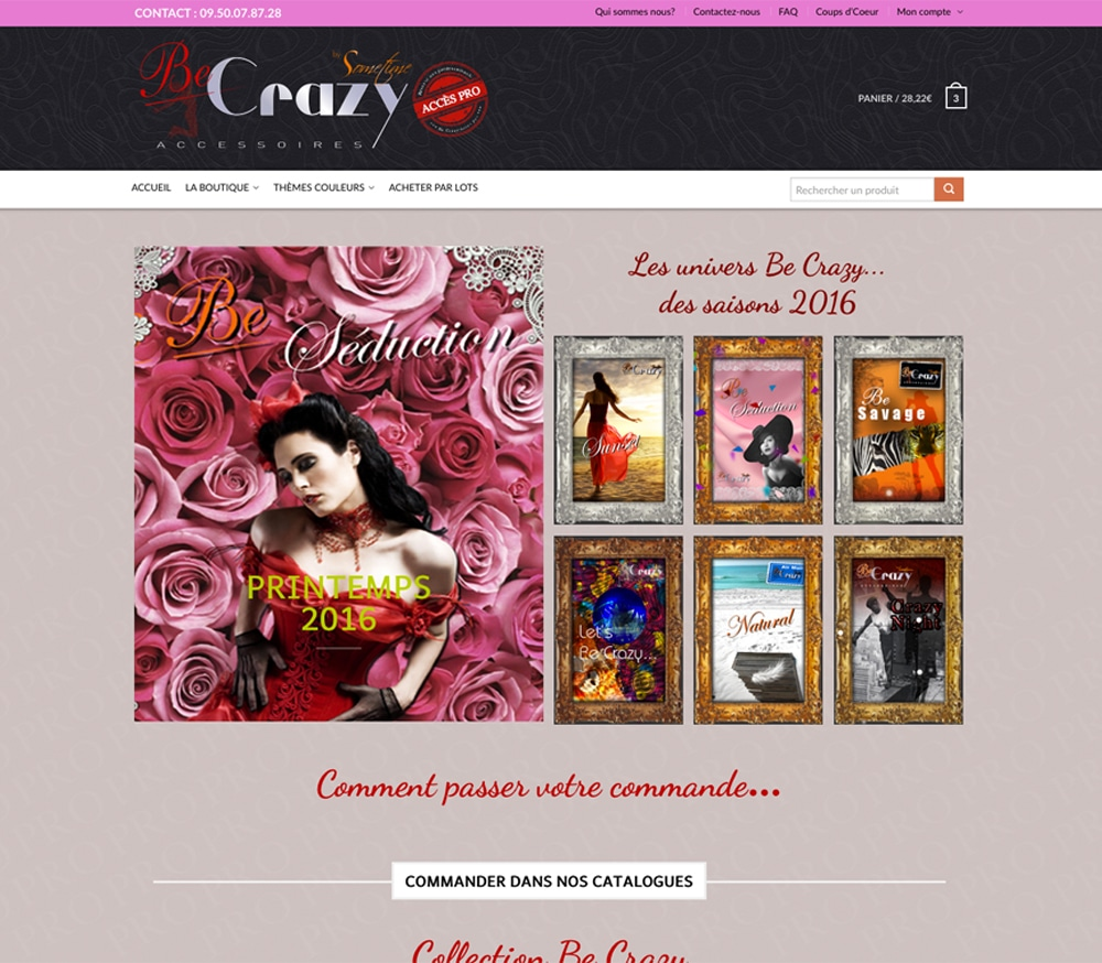E.Commerce - Web Be Crazy